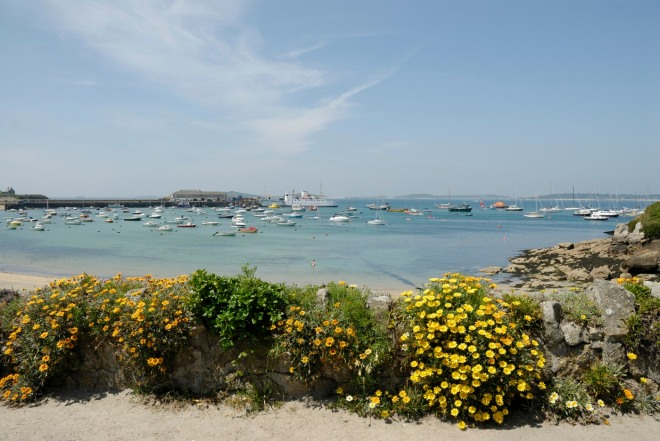 The Iles of Scilly. St Mary's Island