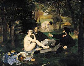 The Luncheon on the Grass (Le déjeuner sur l'herbe), 1863