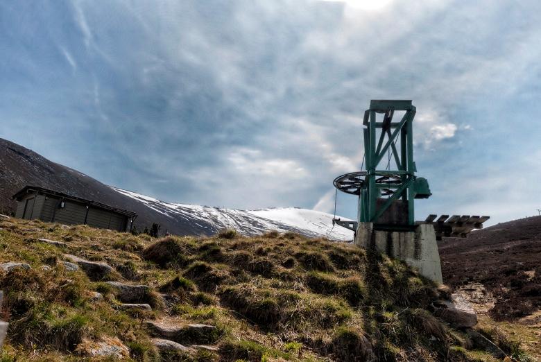 Mount Cairngorm ski lift winding gear