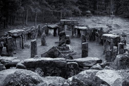 Miniature Stonehenge Druids Temple (folly)