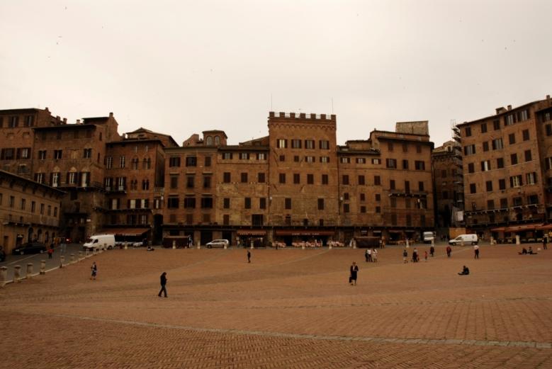 the Piazza del Campo