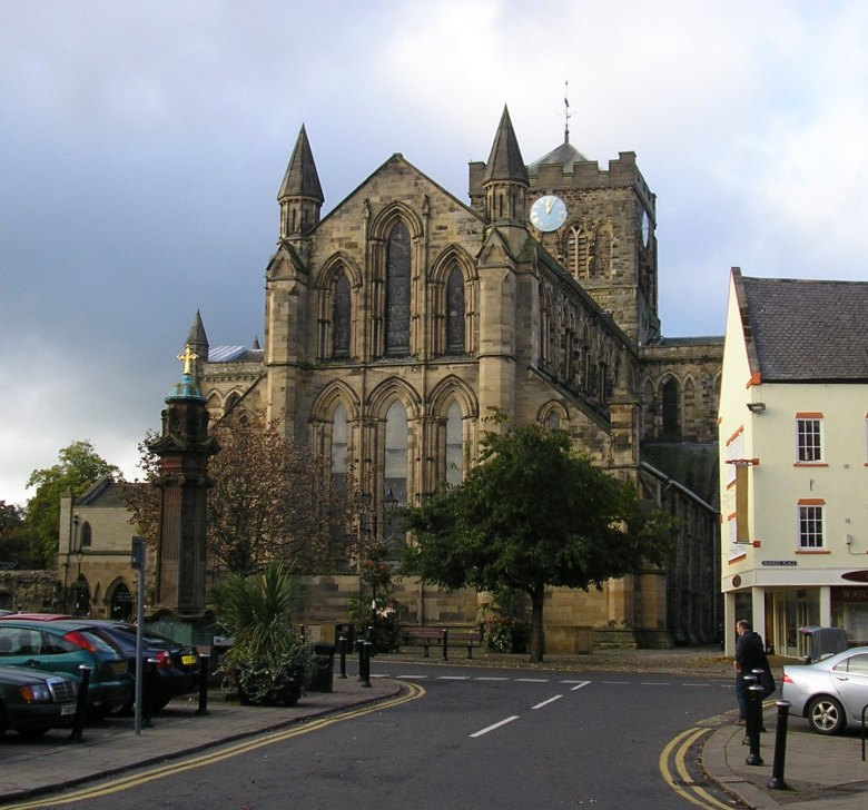 Hexham Abbey in Northumberland