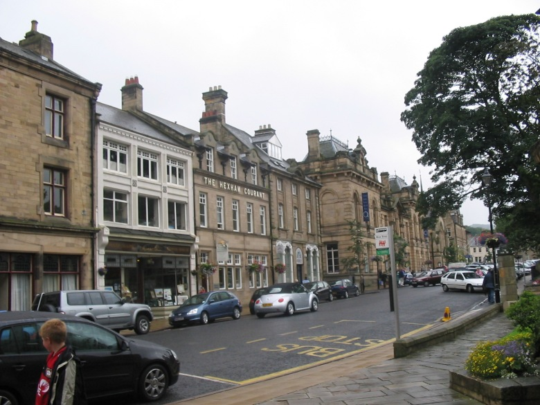 Beaumont Street in the heart of Hexam.