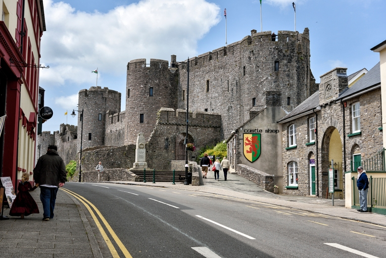Pembroke Castle, Pembroke, South Wales