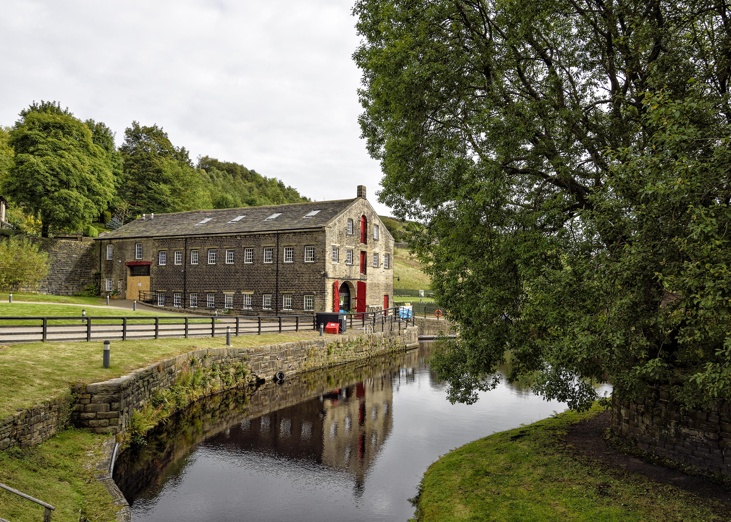 The Standedge warehouse and visitor centre