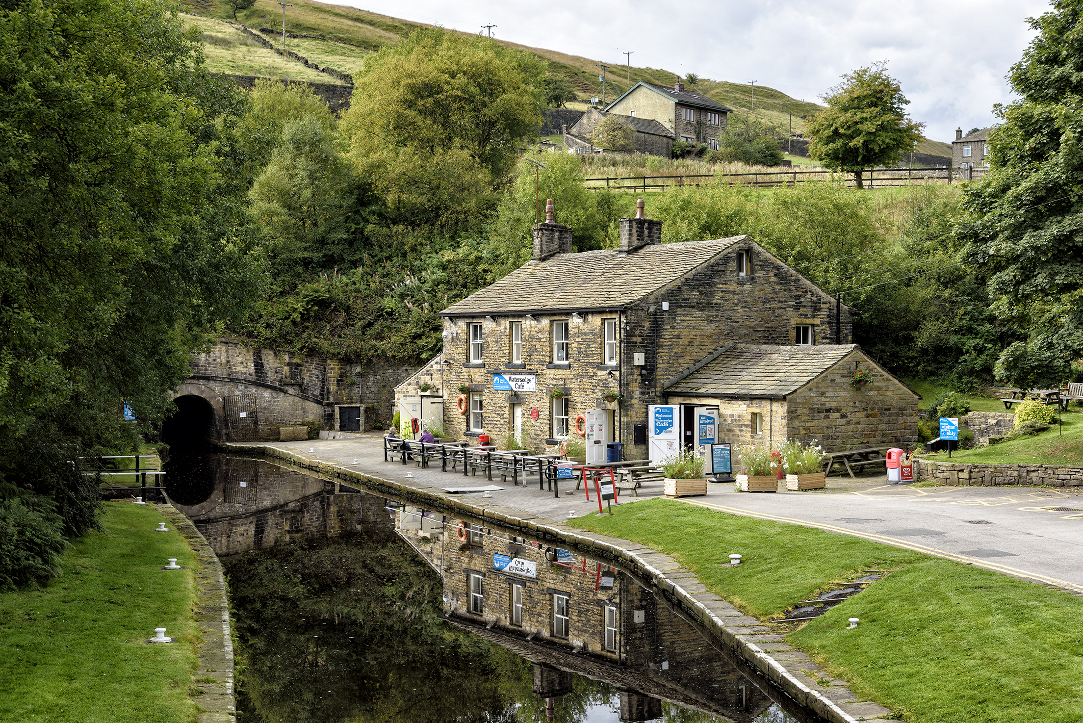 The Standedge Tunnels are four parallel tunnels beneath the Pennines in northern England.